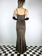 他の写真3: ☆Collectif☆DELILAH LEOPARD VELVET MAXI DRESS 11号