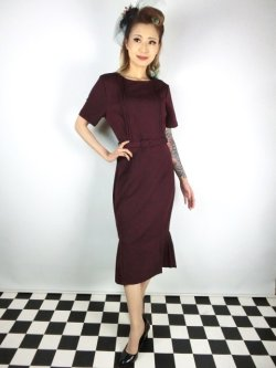 画像2: ☆Collectif☆CAMILLE PENCIL DRESS 17号