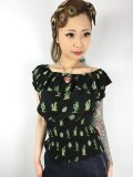 ☆Collectif☆BEBE CACTUS GYPSY TOP 13号