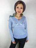 ☆HELL BUNNY☆Belle Jumper Sky Blue 13号