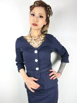 画像1: ☆COLLECTIF VINTAGE☆CHARLOTTE JACKET 17号