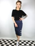 ☆COLLECTIF VINTAGE☆CHARLOTTE PENCIL SKIRT 13号