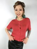 ☆HELL BUNNY☆Loretta Cardigan Red 9号
