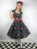 ☆HELL BUNNY☆Stevie 50s Dress 11号