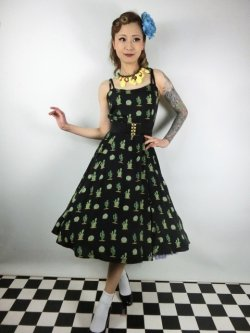 画像1: ☆Collectif☆JANIE CACTUS DOLL DRESS 15号