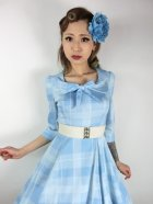 他の写真2: ☆H&R☆Sweet Blue Checked Swing Dress 13号