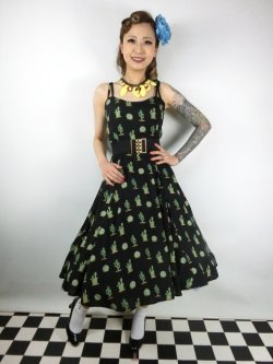 画像2: ☆Collectif☆JANIE CACTUS DOLL DRESS 15号