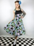 ☆H&R☆Flower Circle Swing Dress 9号