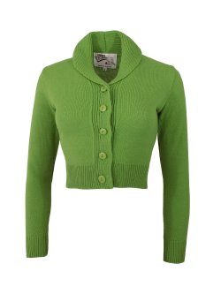 画像1: Vivien of Holloway Jenny Cardigan Kiwi Size L(11〜13号)