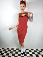 他の写真1: ☆HELL BUNNY☆Miley Pencil Dress Red 13号