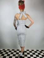 他の写真3: ☆Collectif☆WANDA POLKA DOT PENCIL DRESS White  17号