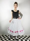 ☆Collectif☆FANCY FLAMINGO SWING SKIRT 15号