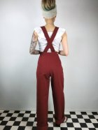 他の写真3: ☆Freddies of Pinewood☆ Burgundy Home Companion Dungarees (32インチ) 15号