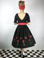 他の写真3: ☆HELL BUNNY☆Rosa Rossa 50s Dress Black 15号