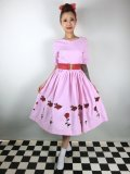 ☆HELL BUNNY☆Rosa Rossa 50s Dress Pink 13号