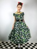 ☆Collectif☆  DOLORES TROPICAL BIRD DOLL DRESS 11号