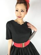 他の写真2: ☆HELL BUNNY☆Rosa Rossa 50s Dress Black 15号