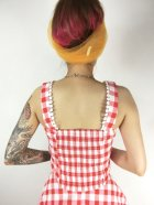 他の写真3: ☆Collectif☆LOTTIE VINTAGE GINGHAM TOP Red 15号