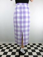 他の写真3: ☆Collectiff☆OPAL OVERSIZED CHECK SKIRT White/Purple 15号