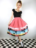 ☆Collectif☆MARILU ALOHA BORDER SWING SKIRT 7号