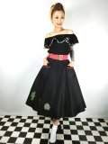 ☆Collectif☆ SILVIA CACTUS SWING SKIRT 11号