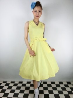 画像1: ☆Collectif☆MAVIS PLAIN SWING DRESS 11号