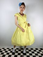 他の写真1: ☆Collectif☆JOICE PLAIN SWING DRESS 15号