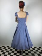 他の写真3: ☆Collectif☆MONIA STARFISH SWING DRESS Blue 9号