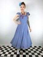 他の写真1: ☆Collectif☆MONIA STARFISH SWING DRESS Blue 9号