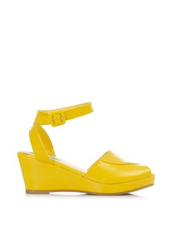 画像2: ☆Collectif☆LULU HUN SIMONA WEDGE-Yellow UK7(日本サイズ 約26.5cm)