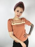 "☆BloodyEdith☆""Bianca"" Sweater Jumper Orange (M) 11号"