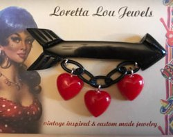 画像4: ☆Loretta Lou Jewels☆Brooch Arrow