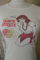 "他の写真3: SWEETMEAT SHOW  ""Miss Tropic Breeze"" T-shirt Natural Mサイズ"