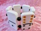 他の写真3: Dominoブレスレット White×Black