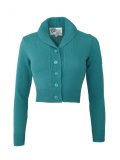 Vivien of Holloway Jenny Cardigan Teal Size L(11〜13号)