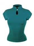 Vivien of Holloway Mandarin Top Teal SizeS(7号)