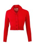 Vivien of Holloway Jenny Cardigan Red Size XL(13〜15号)