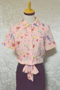 ☆Collectif☆ SAMMY ATOMIC COCKTAILS BLOUSE 9号
