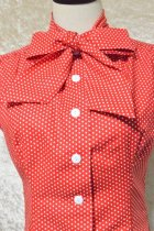 他の写真2: ☆Heart of Haute☆ Estelle Blouse - Polka Dot Red(XL)15号