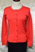 ☆H&R☆Red Round neck Cardigan (S) 9号