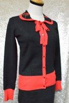 他の写真1: ☆H&R☆Rose Cardigan In Black Red (S) 9号