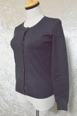 画像4: ☆H&R☆Black Round neck Cardigan (L) 13号