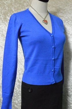 画像2: ☆H&R☆Midnight Blue Cardigan (M) 11号