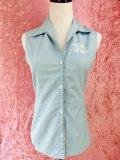 チェリハニオープンカラーシャツ Light Blue 7号