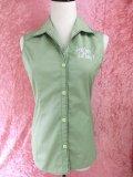 チェリハニオープンカラーシャツ Light Green 7号