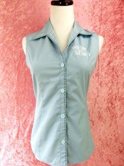 画像2: チェリハニオープンカラーシャツ Light Blue 17号