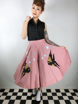 画像2: Tropical Fish・サーキュラースカート Pink (11号)