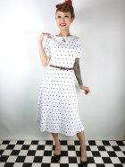 他の写真1: ☆Collectif☆Abby Polka Dot Swing Dress 17号