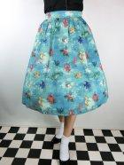 他の写真1: ☆Lindy Bop☆Pryia Green SeaHorse Friends Print Swing Skirt 11号