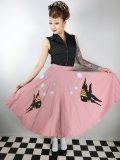 Tropical Fish・サーキュラースカート Pink (13号)